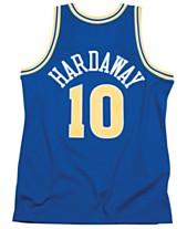 6d9bc443ae4 Mitchell & Ness Men's Tim Hardaway Golden State Warriors Hardwood Classic Swingman  Jersey