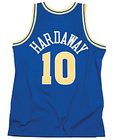 Mitchell & Ness Men's Tim Hardaway Golden State Warriors Hardwood Classic Swingman Jersey