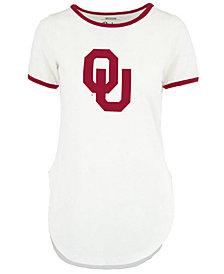 Royce Apparel Inc Women's Oklahoma Sooners Ringer T-Shirt