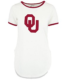 Royce Apparel Inc Women's Oklahoma Sooners Ringer T-Shirt