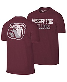 Men's Mississippi State Bulldogs Team Stacked Dual Blend T-Shirt