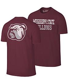 Retro Brand Men's Mississippi State Bulldogs Team Stacked Dual Blend T-Shirt