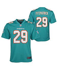 Nike Minkah Fitzpatrick Miami Dolphins Game Jersey, Big Boys (8-20)