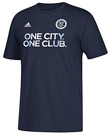 adidas Men's New York City FC Jersey Hook T-Shirt
