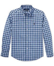 Polo Ralph Lauren Big Boys Stretch Cotton Shirt