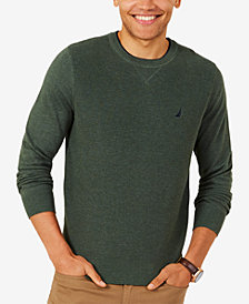 Nautica Men's Performance Crew-Neck Classic Fit Sweater
