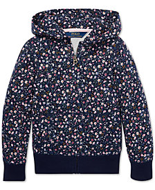 Polo Ralph Lauren Little Girls Cotton Hoodie