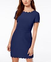 86dc10d4c Blue Wear to Work Dresses for Women - Macy s