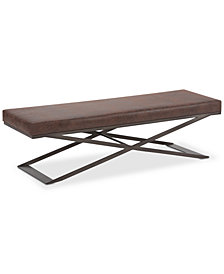 Lynna Large Bench, Quick Ship