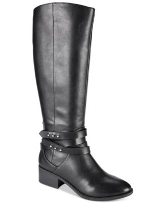 Image of Material Girl Damien Tall Boots, Created for Macy's