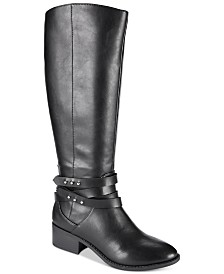 Material Girl Damien Tall Boots, Created for Macy's