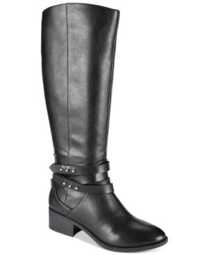 Image of Material Girl Damien Tall Boots, Created for Macy's Women's Shoes