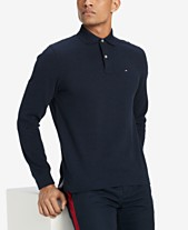 Tommy Hilfiger Men s Classic Fit Long Sleeve Polo Shirt ee89c6eee