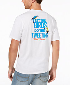 Tommy Bahama Men's Birds Do the Tweeting Graphic T-Shirt