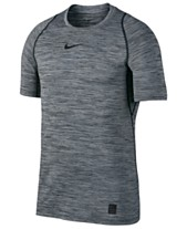 7e9720554be5 Nike Men s Pro Dri-FIT Fitted Heathered T-Shirt