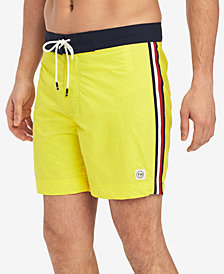 "Tommy Hilfiger Men's Gilbert 5 1/2"" Board Shorts, Created for Macy's"