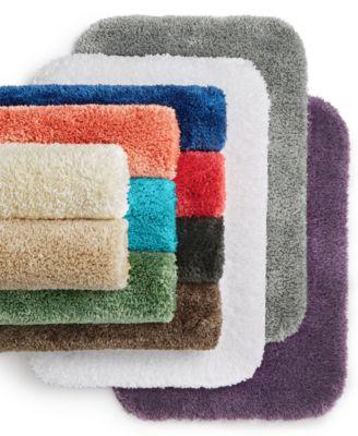 Brick Gold 3 Piece Elite Bath Rug Set Brick Design with Dual colors