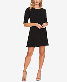 CeCe Puff-Sleeved Dress