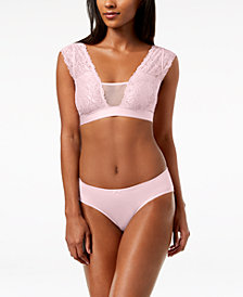 I.N.C. Lace Cami Bralette & Lace-Back Hipster, Created for Macy's