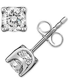 Diamond Stud Earrings (1/2 or 3/4 ct. t.w.) in 14k Gold