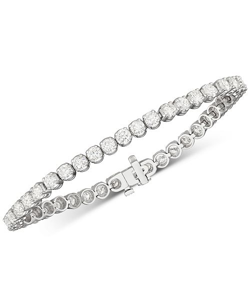 Diamond Tennis Bracelet 8 Ct T W