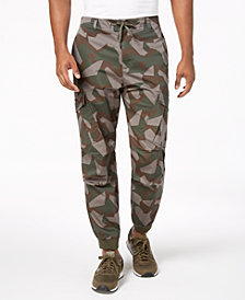 A|X Armani Exchange Men's Camo Cargo Pants