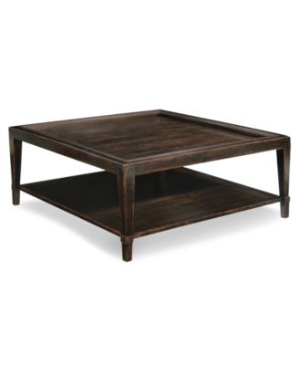 CLOSEOUT Bastille Table Square Coffee Table Furniture Macys