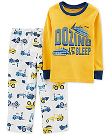 Carter's Toddler Boys 2-Pc. Dozing Off Pajama Set