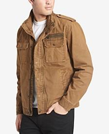 Men's Cotton Zip-Front Jacket