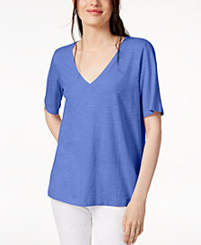 Eileen Fisher Organic Cotton Top, Regular & Petite