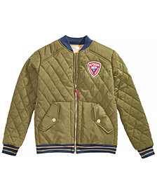 Epic Threads Toddler Boys Quilted Bomber Jacket, Created for Macy's