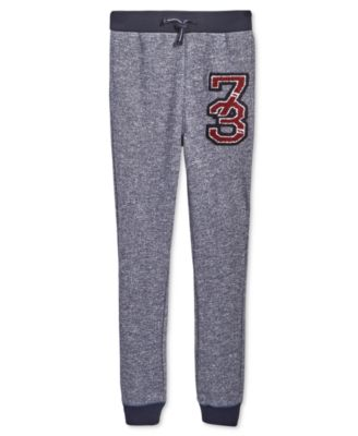 Big Boys Marled Jogger Pants, Created for Macy's
