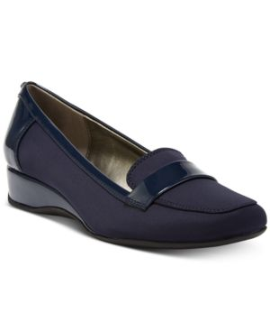 Bandolino Latera Wedge Loafer Flats Women's Shoes 6385980