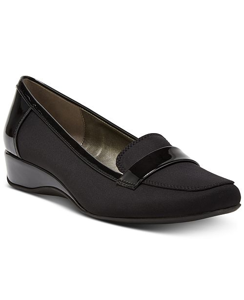 d9c45929a6f8 Bandolino Latera Wedge Loafer Flats   Reviews - Flats - Shoes - Macy s