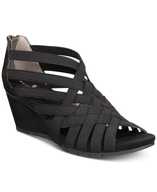 1a4c434df1 Bandolino Gillmiro Strappy Wedge Sandals; Bandolino Gillmiro Strappy Wedge  Sandals ...