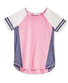 Pink Republic Big Girls Colorblocked Raglan T-Shirt