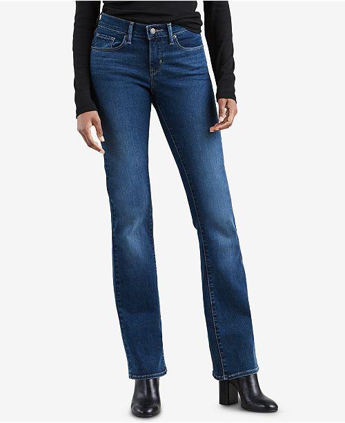 c0dd2a07 Levi's Curvy Bootcut Jeans & Reviews - Jeans - Juniors - Macy's