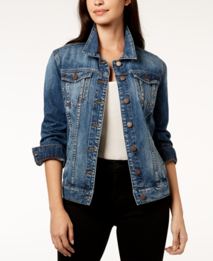 Kut From The Kloth KUT FROM THE KLOTH EMMA COTTON DENIM BOYFRIEND JACKET