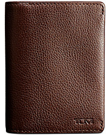 Tumi Men's Gusseted Leather Card Case