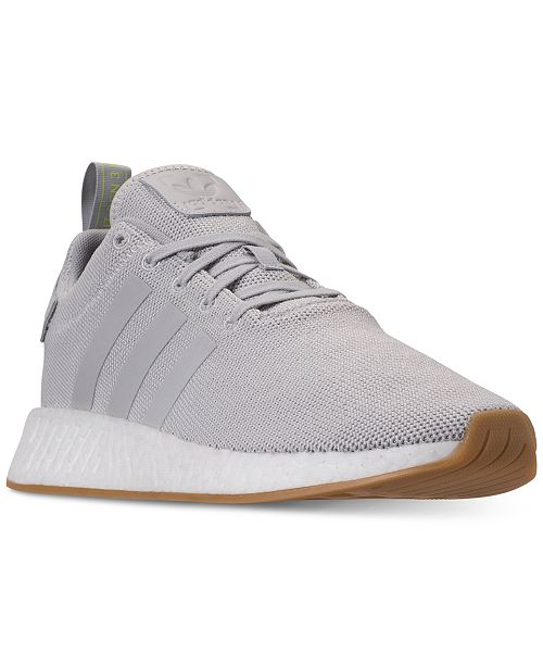 low priced b4eb8 ea37a adidas Men's NMD R2 Casual Sneakers from Finish Line ...