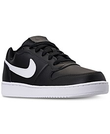 Men's Ebernon Low Casual Sneakers from Finish Line
