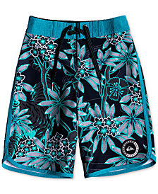 Quiksilver Little Boys Highline Silent Printed Swim Trunks