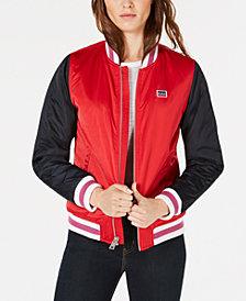 Levi's® Varsity Logo Bomber Jacket