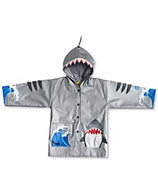 Toddler & Little Boys Shark All-Weather Rain Coat