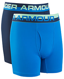 Under Armour Big Boys 2-Pack Performance Boxerjocks
