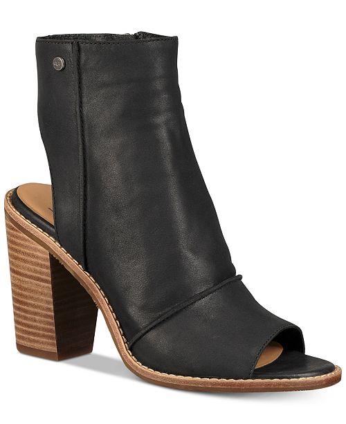 3a355e8ed1e UGG® Women's Valencia Peep-Toe Shooties & Reviews - Boots ...