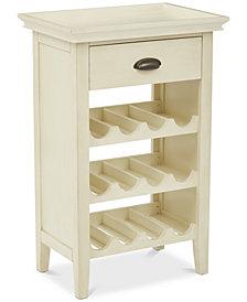 Marven Wine Cabinet, Quick Ship
