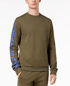 Versace Jeans Men's Vertical Logo Sweatshirt