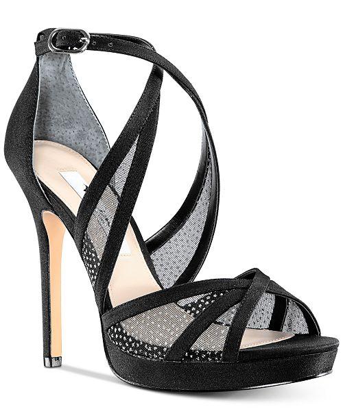 6ffe9089601f Nina Fenna Platform Evening Sandals  Nina Fenna Platform Evening Sandals ...