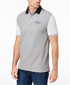 Tommy Hilfiger Men's Carl Custom Fit Polo Shirt, Created for Macy's